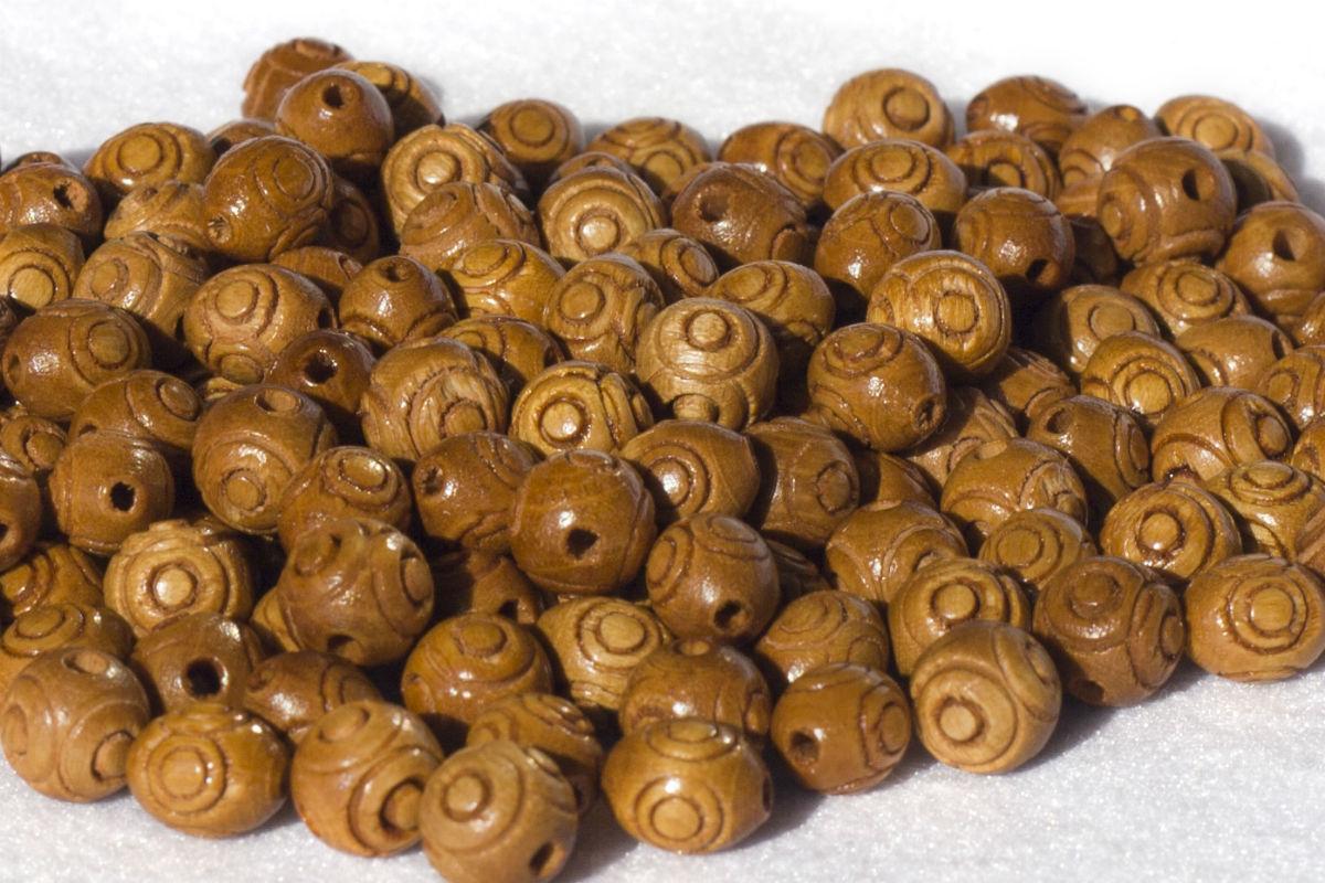Arrel Ancona legno simil cocco lavorato naturale